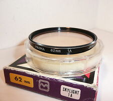 PRISMA 62mm SKYLIGHT 1A FILTER , ( 1314 ) , TOP QUALITY FILTER made in Japan