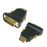 HDMI Female Socket to DVI-D Male Plug Converter Adaptor