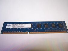 Nanya 4GB DIMM DDR3 Desktop PC3-10600U 10600 1333MHtz 240-pin Ram Memory - DS