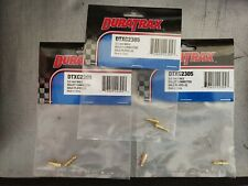 Duratrax & Great Planes 3.5mm Male Bullet Connectors Gold Plated BNIP 5 Pkgs