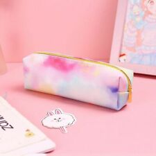 Pencil Case Colorful Pink Make UP Gift Estuches School Pencil Box School Supplie
