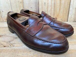 ALDEN #6754 Ravello Shell Cordovan Leather Penny Loafer Sz- 9 C/E