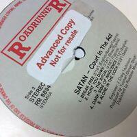 Satan 'Court In The Act' Very Rare Roadrunner 1983 PROMO COPY Vinyl LP VGC