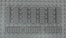 LEGO Technic - 10x Zahnstange 1x4 neu hellgrau / Gear Rack 3743 42000 10179 8421
