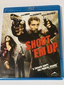 SHOOT' EM UP BLU-RAY 2009 CLIVE OWEN MONICA BELLUCCI PAUL GIAMATTI