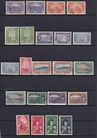 TURKEY 1916-1918, Sc#420-439, CV $103, MNH/MH/Used