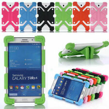 """Universal For Tablet 8.9""""-12"""" inch Shock Proof Soft Silicone Stand Cover Case US"""