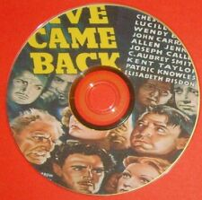 DRAMA 166: FIVE CAME BACK (1939) Chester Morris, Lucille Ball, Wendy Barrie