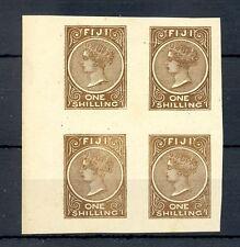 FIJI ISLANDS FOURNIER FORGERY-4 x ST.-MARKED FAUX