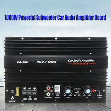 1000W Mono Car Truck Amplifier Amp Audio Power Bass Speaker Subwoofers Stereo
