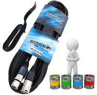 KEEPDRUM XLR Mikrofonkabel 6m - 15m verschiedene Farben  Audiokabel