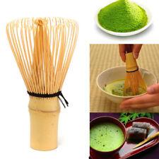 Japanese Ceremony Bamboo Matcha Whisk Chashaku Scoop Ceramic Tea Bowl Chasen Set