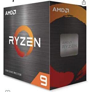 AMD Ryzen 9 5950X Desktop Processor (4.9GHz, 16 Cores, Socket AM4) Tray -...