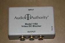 Audio Authority 1182 Passive Component Video DC Blocker