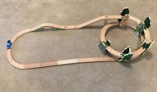 Thomas Wooden Race Down the Rails Set with Arch Stone Bridge HTF
