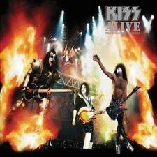 Kiss Double LP Vinyl Music Records
