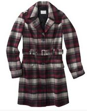 Converse One Star Plaid Winter Coat Size XS