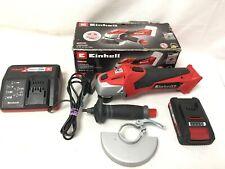Einhell TE-AG 18 Li 18V Cordless Angle Grinder - Red