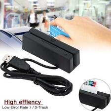 Magnetic Credit Card Reader Encoder Stripe Swipe Magstripe 3-Track USB GA