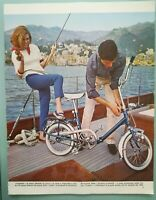 Pubblicità d'epoca 1964 BICI GRAZIELLA CARNIELLI ADVERTISING