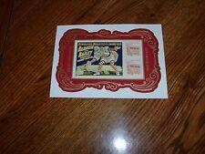 2014 U.S. Circus Souvenir Sheet Mnh Imperf No Die Cuts