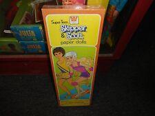 Vintage 1981 Super Teen Skipper and Scott Paper Dolls Set still sealed