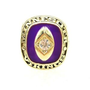 1969 Minnesota Vikings NFL Champions KAPP Championship Ring, All Size Available