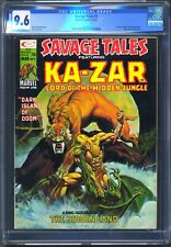 SAVAGE TALES #9 - CGC 9.6 - WP NM+ KA-ZAR - SHANNA SHE DEVIL - MIKE ZECK