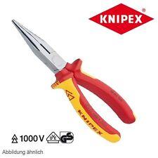 Knipex VDE Flachrundzange mit Schneide 160 mm 25 06 160