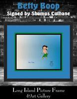 Betty Boop Hand Painted L/ED Cel Signed Shamus Culhane NEWLY CUSTOM FRAMED