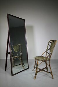 Edwardian Freestanding Antique Outfitters Mirror