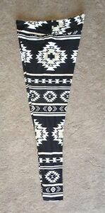 LuLaRoe TC ~ AZTEC in Pale Yellow & White on Black ~ Rare New Release
