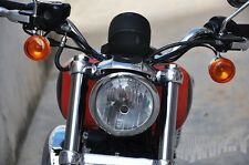 Chrome Front Turn Signal Light For Harley-Davidson XL883 XL1200 Sportster 92-up