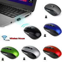 Mini 2.4GHz Wireless Optical Mouse+USB receiver Gaming Mice Portable