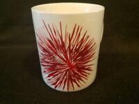 Starbucks - Red Star Burst Holiday Flower Fireworks Coffee Cup - 2014 -12 oz