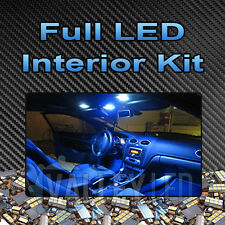 Fiesta Mk7 08-on Full Led Interior Kit De Luz-Brillante Blanco Xenon