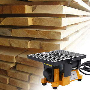 Mini Table Saw Cutting Machine Craft Saw DIY Cutting Tool Low-Noise 4500 RPM NEW