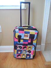 """RARE Gwen Stefani Harajuku Mini 21"""" Rolling Luggage Suitcase Gently Used HTF"""