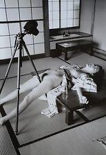 Nobuyoshi Araki Limited Edition XXL Photo Print 34x50cm Nude Woman & Tripod Art