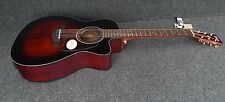 Ibanez AC400CE-DVS SOLID Spruce TOP ACOUSTIC ELECTRIC CUTAWAY Fishman Pickup