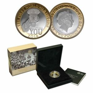 100th Anniversary of the First World War - Outbreak 2014 UK £2 coin