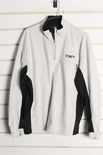 Nike Golf Storm Fit Windbreaker 1/2 Zip Jacket - Beige - Size Medium M   (aa9)