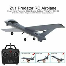 Z51 RC Drone 2.4G 2CH Predator Remote Control RC Airplane Wingspan Glider Gift