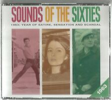 SOUND OF THE SIXTIES 1963 READER'S DIGEST 3 CD BOX SEALED