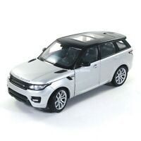 Land Rover Range Rover Sport SUV Sunroof Silver 1:24 Diecast Vehicle Welly 24059
