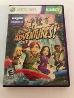 Kinect Adventures (Microsoft Xbox 360, 2010) Complete Tested