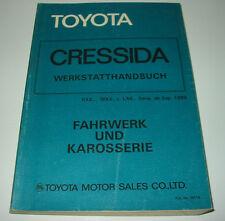 Werkstatthandbuch Toyota Cressida Typ RX60 LX60 MX62 Reparaturanleitung 1981!