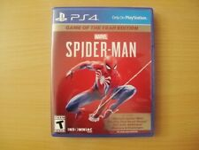 Spider-Man (Sony PlayStation 4, 2019, Game of the Year Edition) PS4
