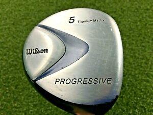 Wilson Progressive Ti Matrix 3 Wood 15* RH / Regular Graphite / New Grip /mm2120