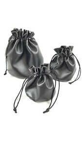Faux Leather Drawstring Pouch Coin Bag Medicine Tobacco Pouch Medieval Cosplay